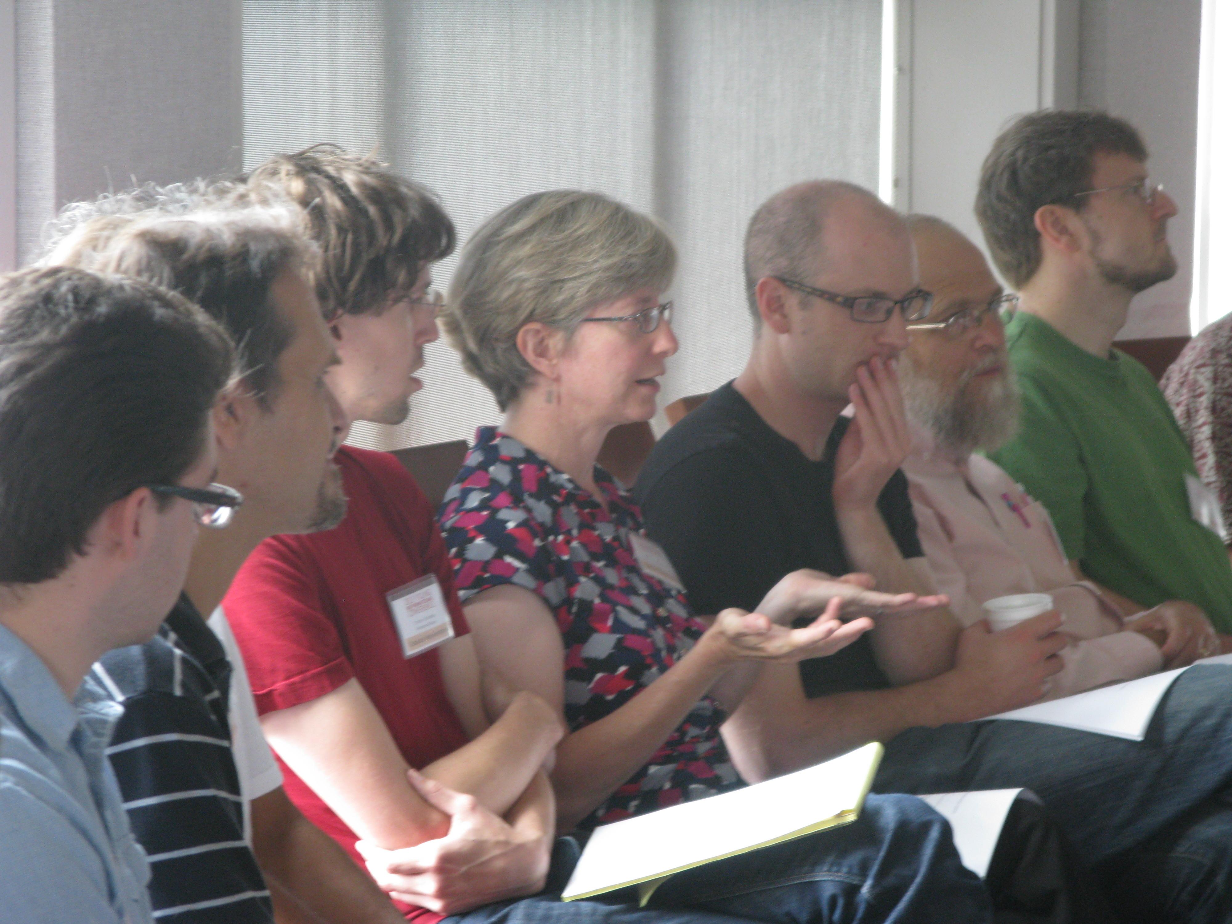 The graduate school panel discussion.